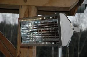 Kortgolvige infrarood terrasverwarming